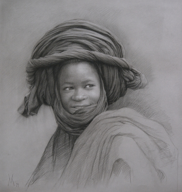 Guillermo Muñoz Vera, 'Young Man from Mali', 2019, Forum Gallery