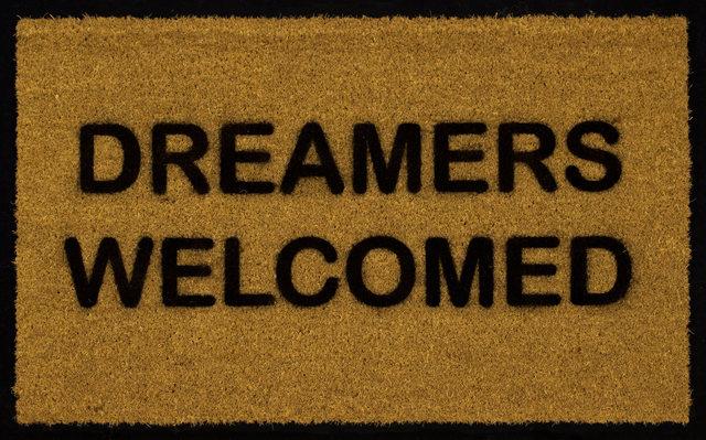 , 'Dreamers Welcome,' 2018, Sullivan Goss