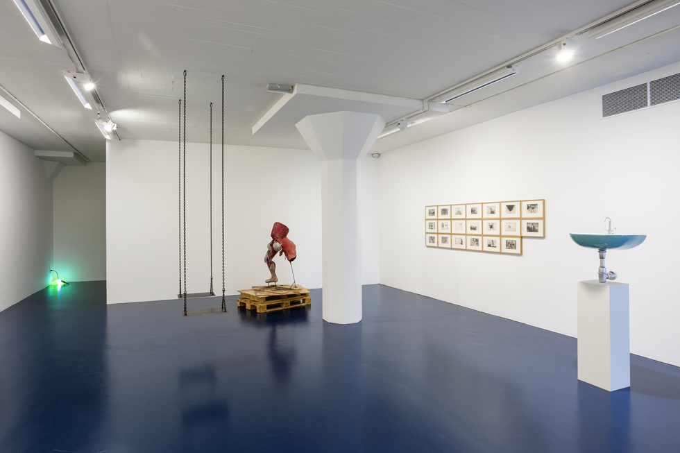 Installation view Like A Prayer. Magasin III Museum & Foundation for Contemporary Art. Photo: Christian Saltas.