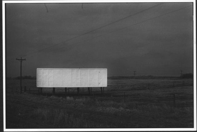 Erich Hartmann, 'Billboard, USA,', 1976, °CLAIRbyKahn Galerie