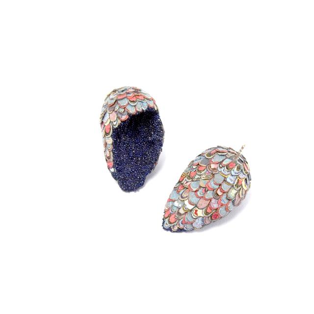 , 'Karma Chroma Earrings,' 2015-2017, Sienna Patti Contemporary