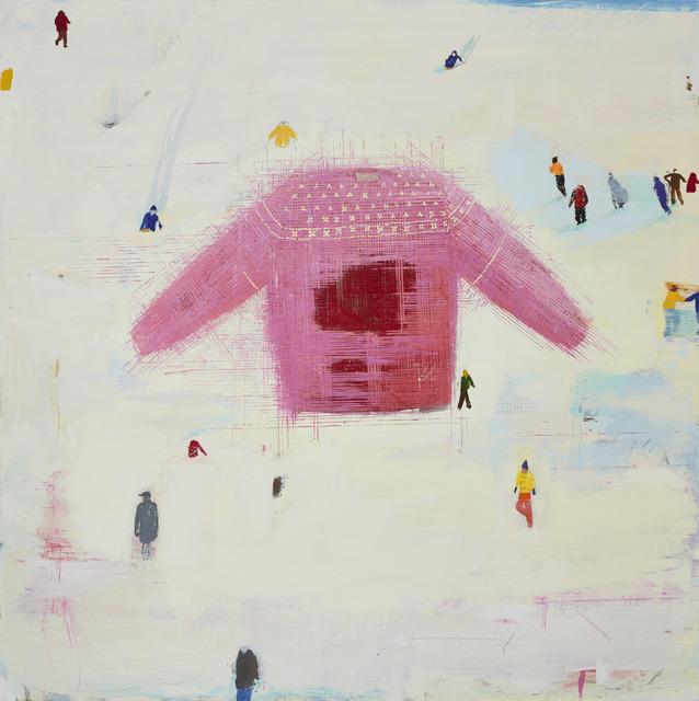 , 'Wool and Snow,' 2017, Berggruen Gallery