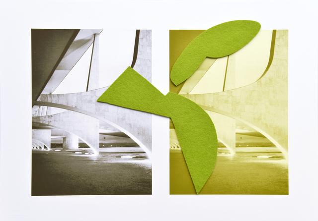 , 'Planalto palace arches,' 2016, Umberto Di Marino
