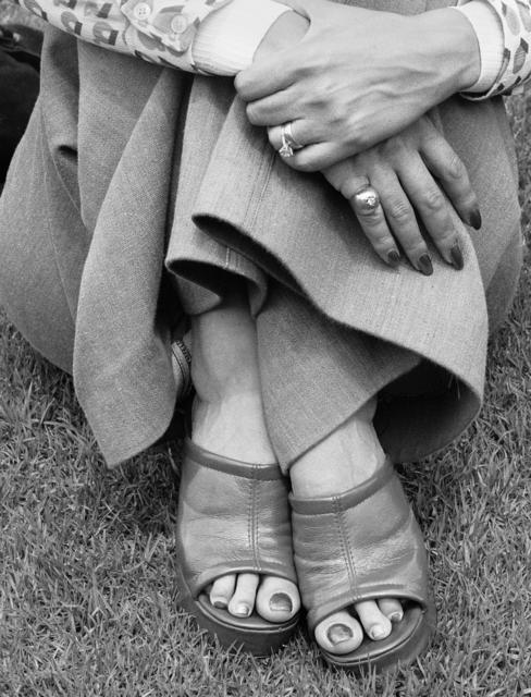 David Goldblatt, 'Woman at A Picnic, Zoo Lake, Johannesburg', 1975, Goodman Gallery
