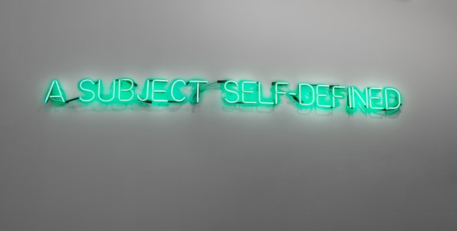, 'Self Defined Subject,' 1966, Galleri Brandstrup