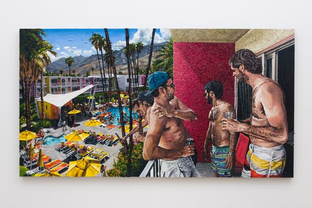 , 'balcony view,' 2016, Depart Foundation