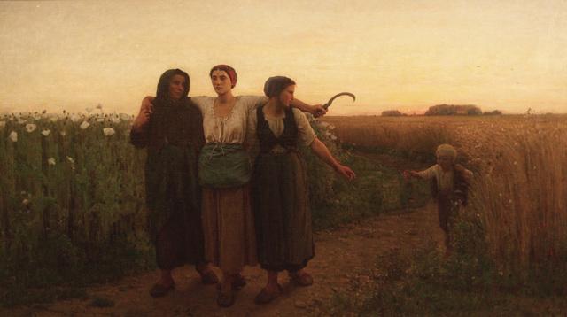 , 'Le Retour des Champs,' 1867, Anderson Galleries