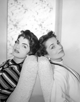 , 'Jacqueline Bouvier and her sister Lee Radizwill, New York,' 1958, Staley-Wise Gallery
