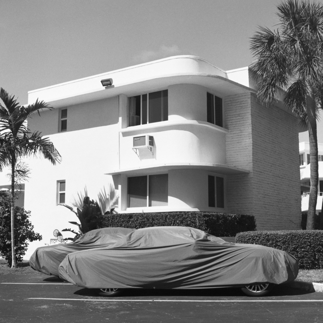 , 'Covered Cars, Bal Harbour,' 2018, Flatland Gallery