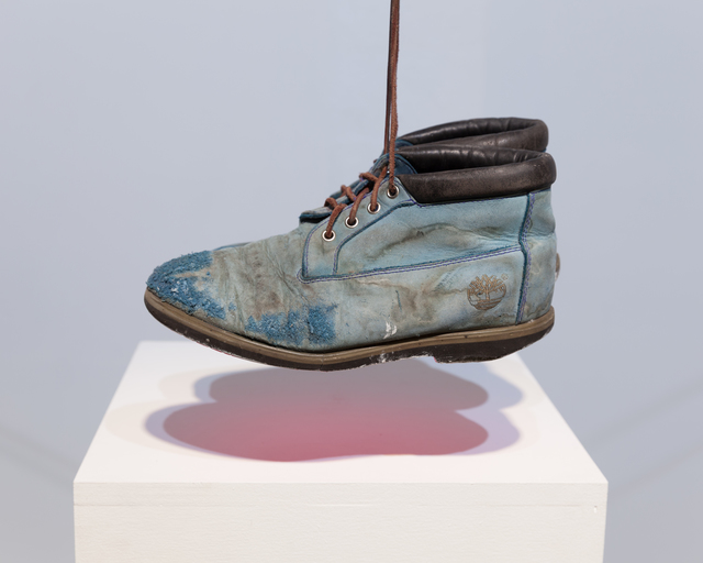 , 'Magenta_Blue Tims (hanging pair),' 2017, Ki Smith Gallery