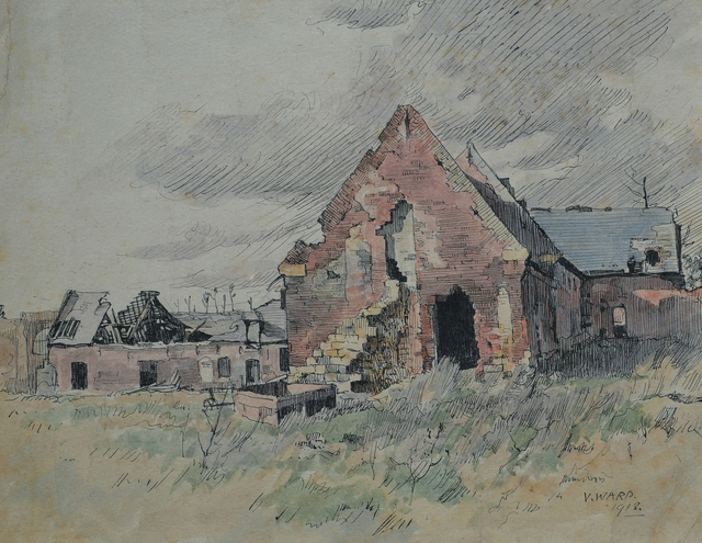 , 'Bombed Dwelling,' 1918, Darnley Fine Art