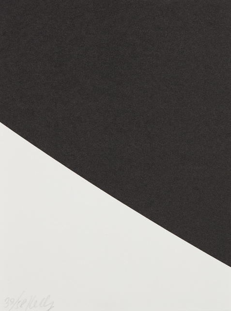 Ellsworth Kelly, 'Blue Curve (Black State), from Third Curve Series', 2000, Phillips