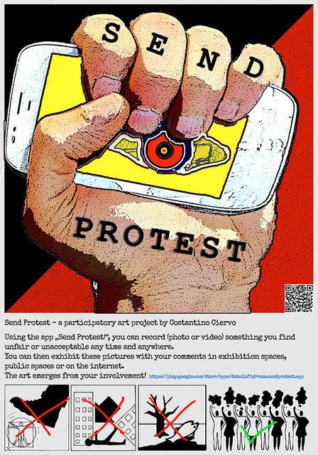 , 'SendProtest,' 2016, DAS ESSZIMMER