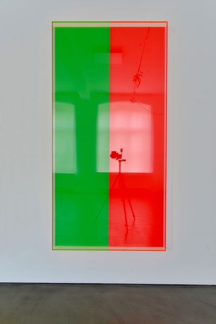 , 'colormirror green red bonn,' 2019, Galerie Judith Andreae