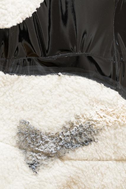 Isabel Yellin, 'Behind Fear Lurks Desire', 2015, Textile Arts, Leathette, Rigilene, Vigo Gallery