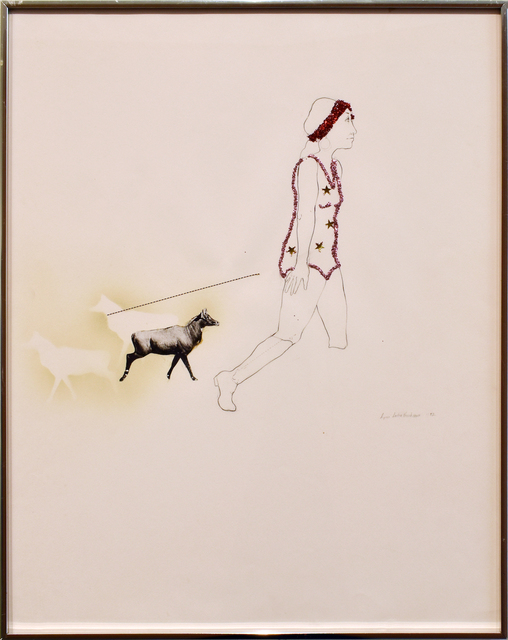 , 'Woman with Two Pets,' 1972, Anglim Gilbert Gallery