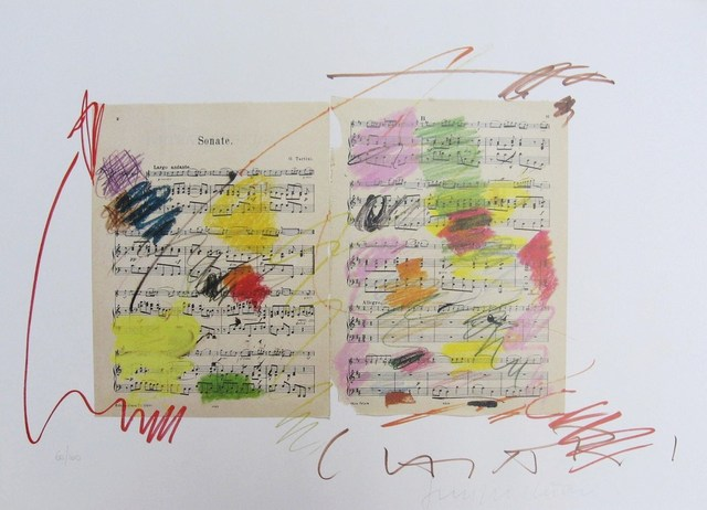 Giuseppe Chiari, 'Fluxus Music', Wallector