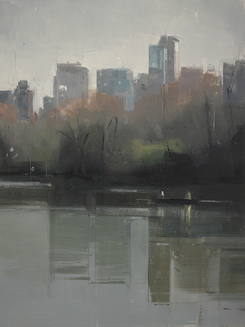, 'Central Park Lake 4,' 2012, Kathryn Markel Fine Arts
