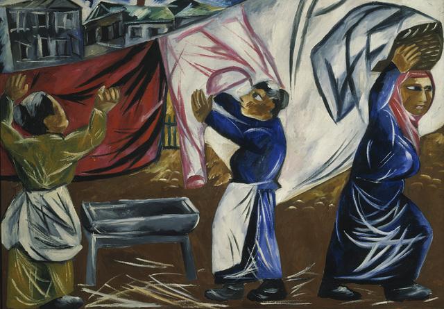 Natalia Goncharova, 'Laundresses', 1911, ARS/Art Resource