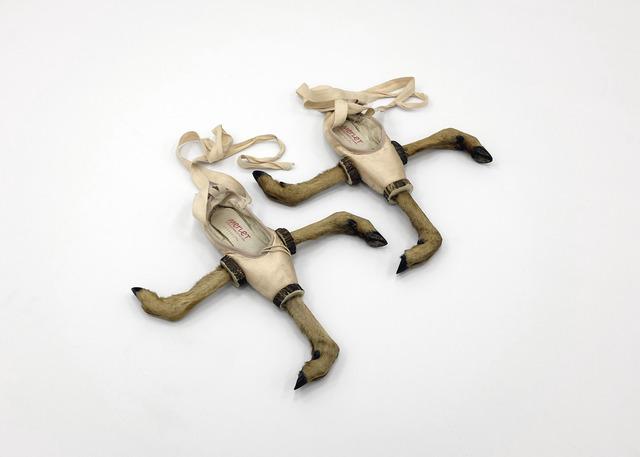 , 'put your heart under your feet ... and walk! (stigma),' 2013, Stevenson