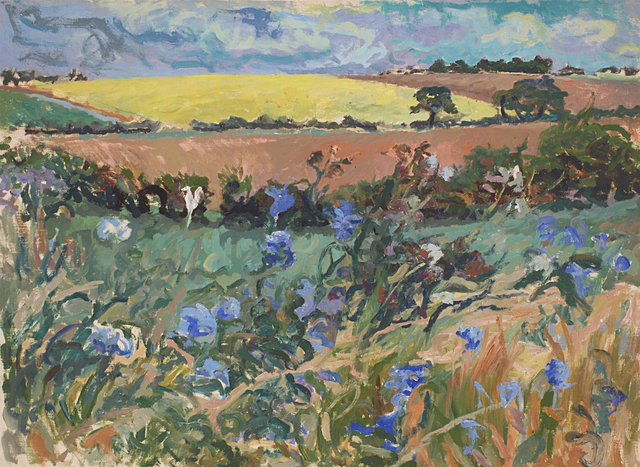 , 'Wild cornflowers,' ca. 1968, Robert Eagle Fine Art
