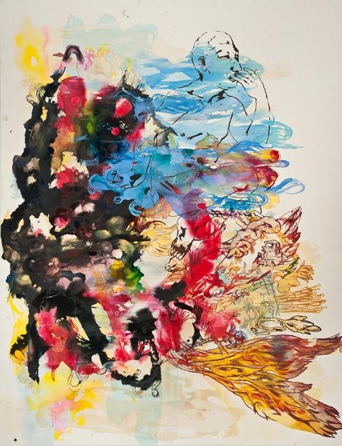 , 'Big Bang, Blue Whisper,' 2012, Deborah Colton Gallery