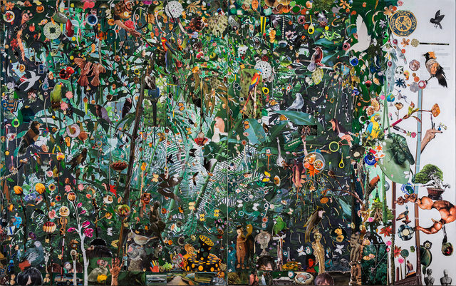 Liu Shih-Tung, 'Let's Pass Through the Garden', 2018-2019, Mixed Media, Mixed media on canvas, Lin & Lin Gallery