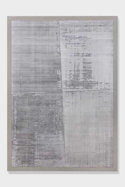 Eric Baudart, 'Papier Millimetre (Big Platinum)', 2018, Edouard Malingue Gallery