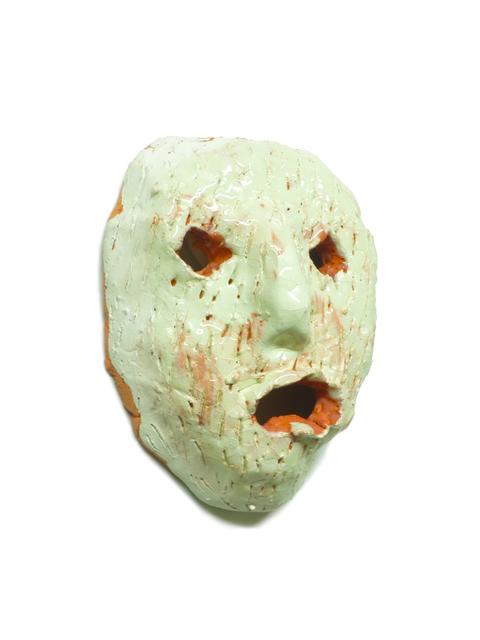 , 'Petit masque menthe,' 2015, Johannes Vogt Gallery