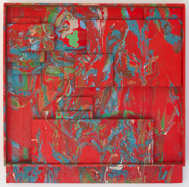 , 'Red Assemblage,' 1969, 418 Gallery