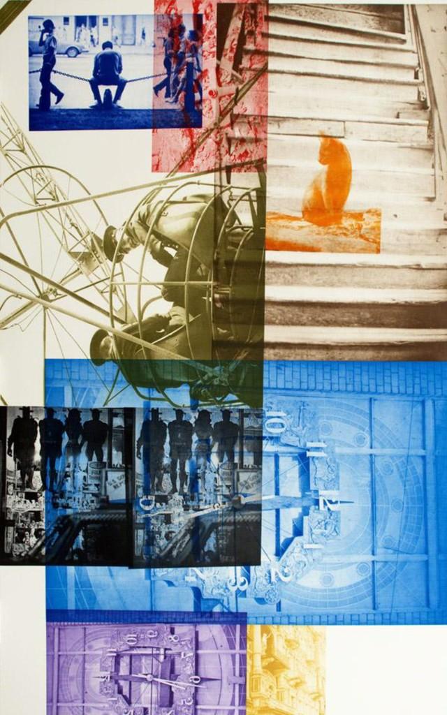Robert Rauschenberg, 'Soviet / American Array llI,' 1990, Zane Bennett Contemporary Art