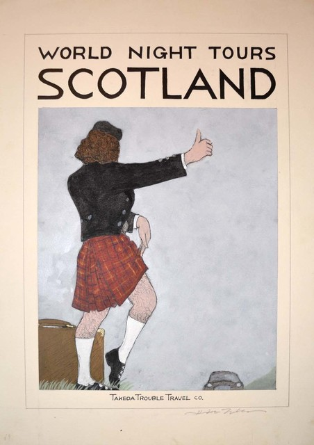 , 'SCOTLAND,' 2012 -2014, Ronin Gallery