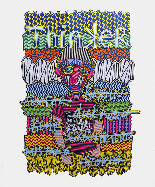 , 'Thinker,' 2017, SMAC