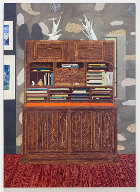 , 'Drop Leaf Desk (Wharton Esherick),' 2018, Fleisher/Ollman