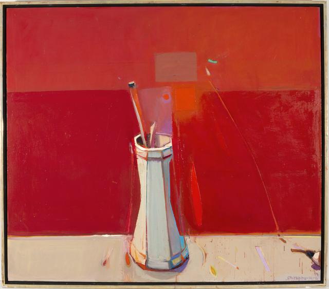 , 'Green Flowers in the Ugly Hockney Vase,' 2004, Hackett | Mill