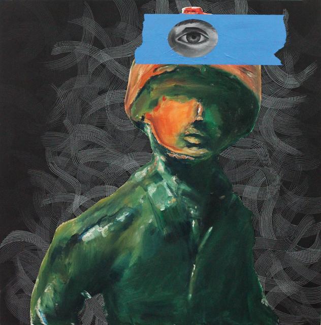 , 'Gaurded,' 2016, Coagula Curatorial