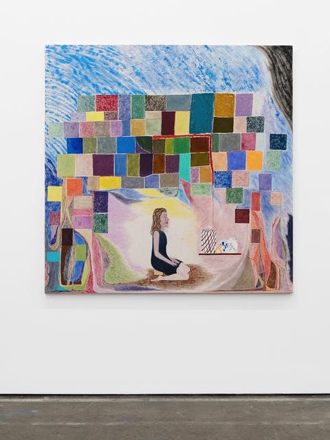 , 'Homeostasis Painting 2 (Johanna Meditation),' 2018, Altman Siegel