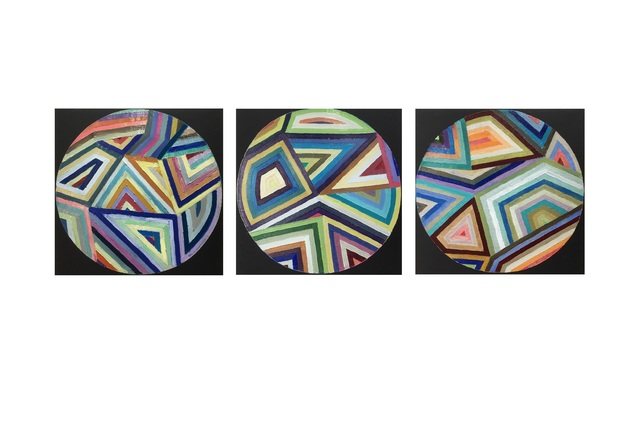 , 'Kaleidoscope 1-3,' 2018, Gallery 133