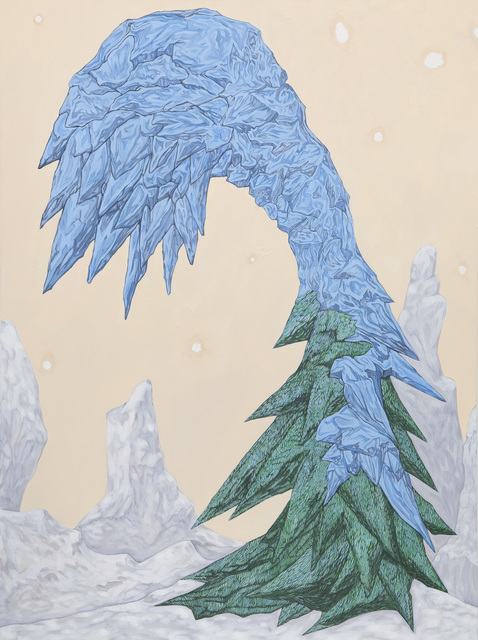 , 'Frosted Tree,' 2011, SNOW Contemporary