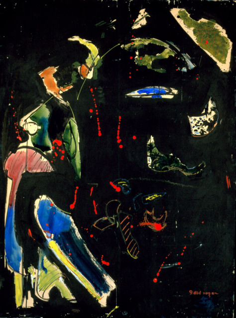 , 'Gold Regen (sic.),' 1944, Adelson Cavalier Galleries