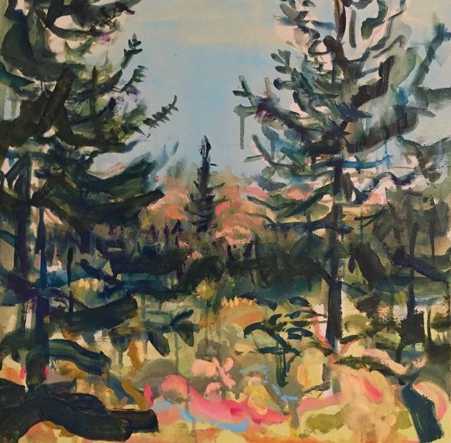 , 'North Lake Blues,' 2018, parts gallery