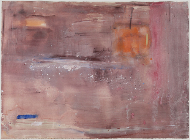 , 'Almost August Series I,' 1978, Helen Frankenthaler Foundation
