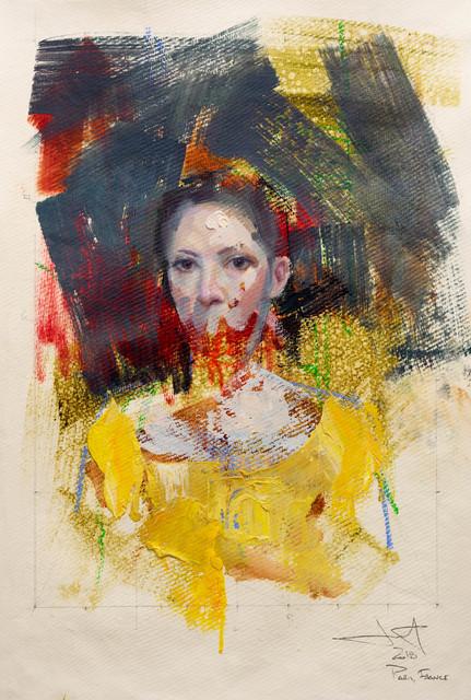 , 'Adrift,' 2018, Abend Gallery