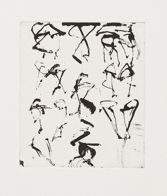 Brice Marden, 'Etchings to Rexroth #5', 1986, Phillips
