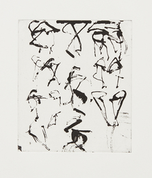 Brice Marden, 'Etchings to Rexroth #5,' 1986, Phillips: Evening and Day Editions (October 2016)