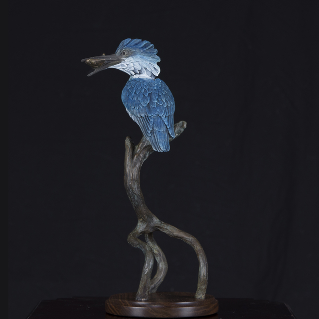 , 'Mangrove King, Kingfisher,' , Geoffrey C. Smith Galleries