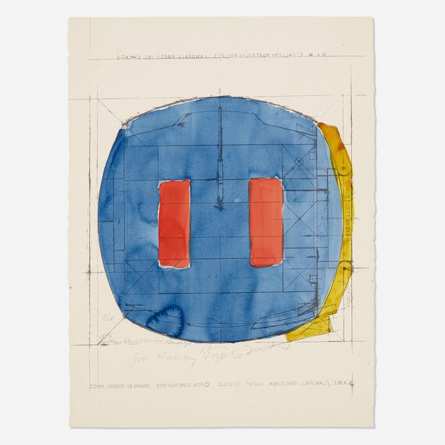 Ron Gorchov, 'Landfall Stretcher', 1978, Wright