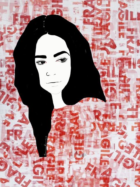 Ramona Russu, 'The girl with black hair/ Fragile 2', 2019, Artig Gallery