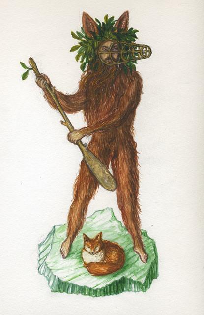 , 'King of Wands,' , ArtYard