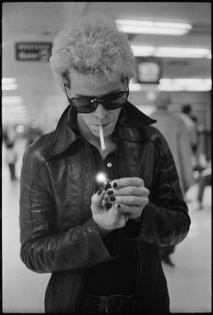 , 'Lou Reed at the San Francisco International Airport,' 1974, Milk Gallery